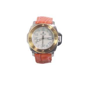 Helfer Lady's Secret Stainless Steel Watch W/Sapphire Crystal LS001S