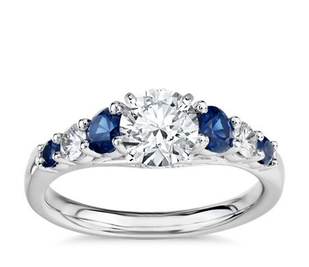 Gemstone  Engagement Rings or Diamond Engagement Rings