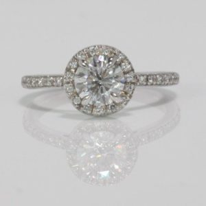 .71 CARAT ROUND BRILLIANT CUT DIAMOND ENGAGEMENT RING