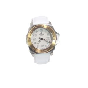 Helfer Lady's Secret Stainless Steel Watch W/Sapphire Crystal LS001S