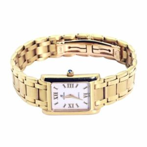 18k Gold Cyma Ladies Quartz Watch