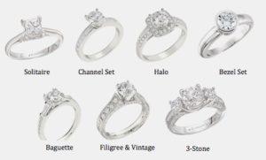 Engagement Rings Styles & Settings